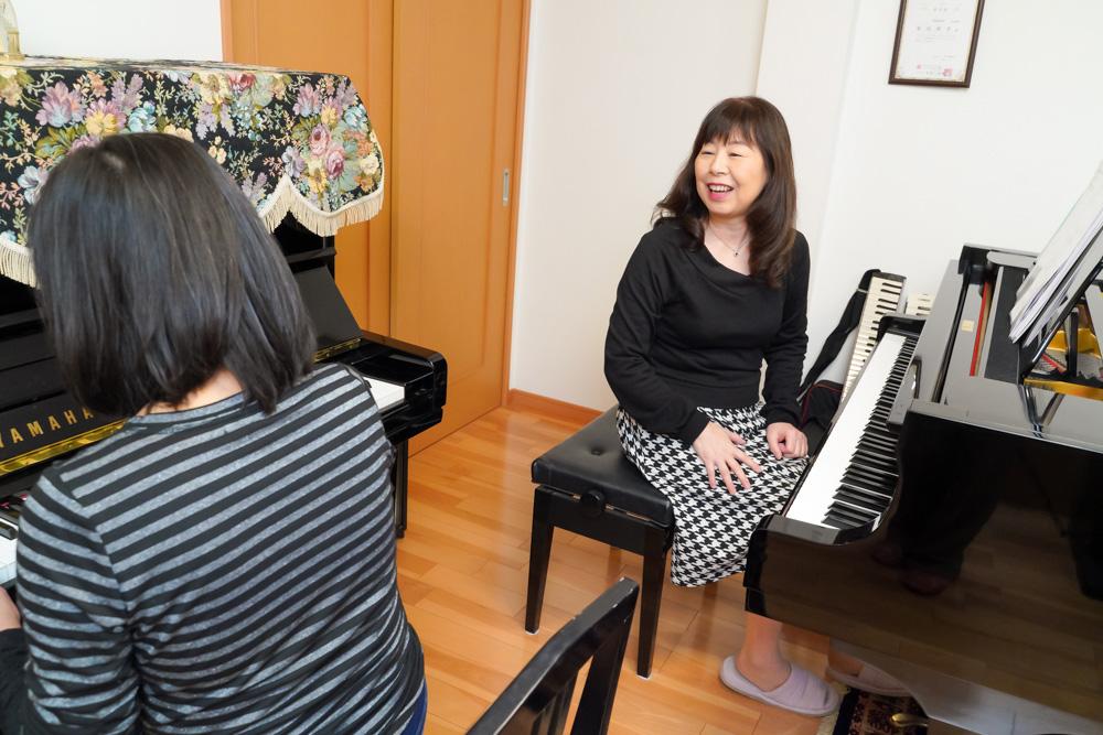 脳トレのできるピアノレッスン画像