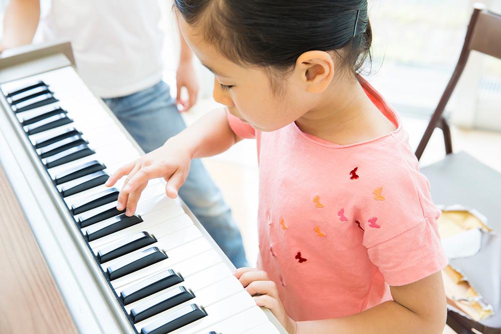 子どもの頃にできなかったピアノがしたい画像