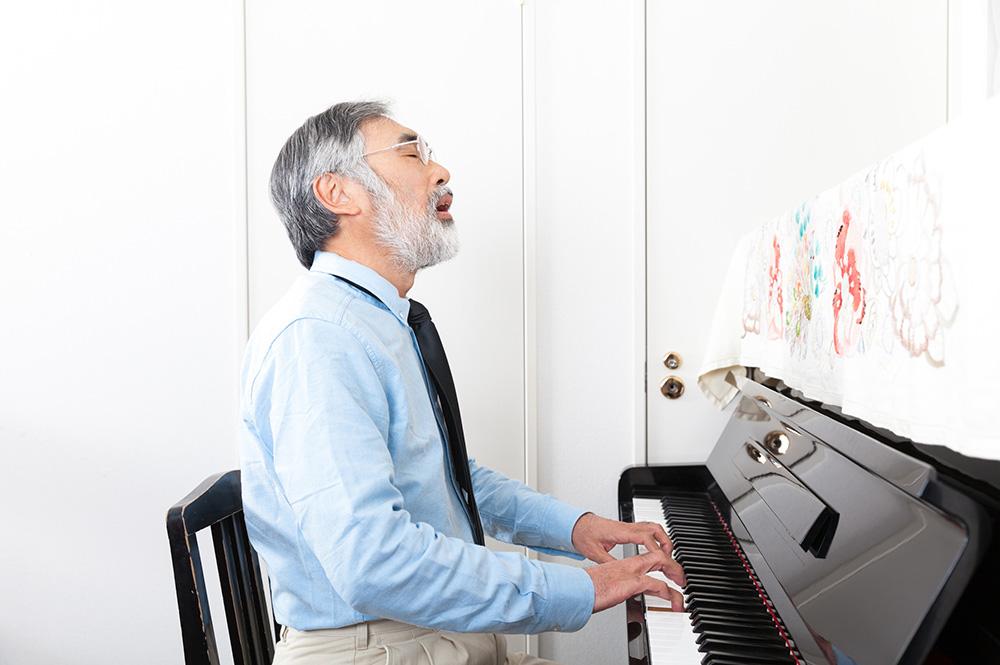 定年退職後の楽しみとして画像