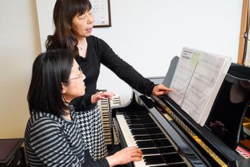 大人のためのピアノレッスン(個人)