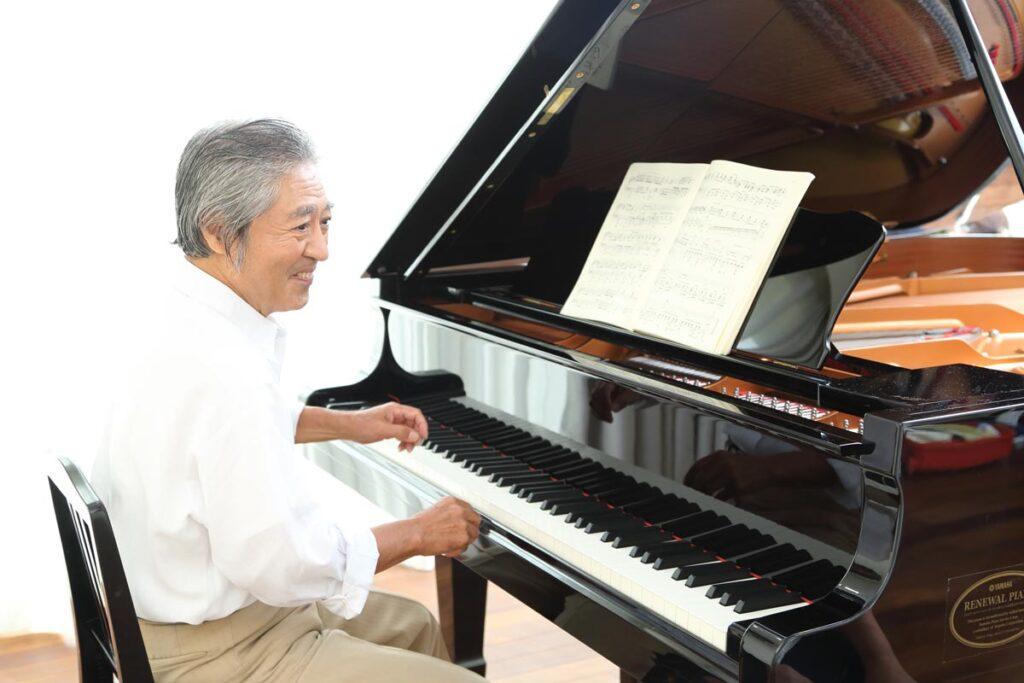 ピアノが大人の脳に与える効果について画像