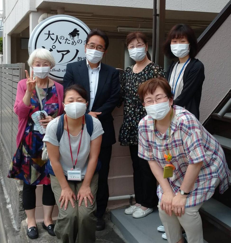 昭和区社会福祉協議会の職員さんにお越しいただきました。画像